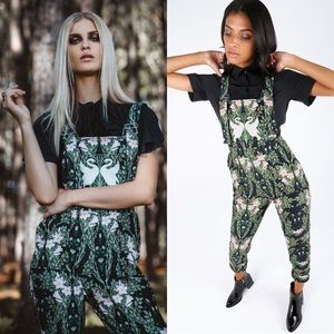 Blackmilk Swan and Iris Overalls Limited Edition